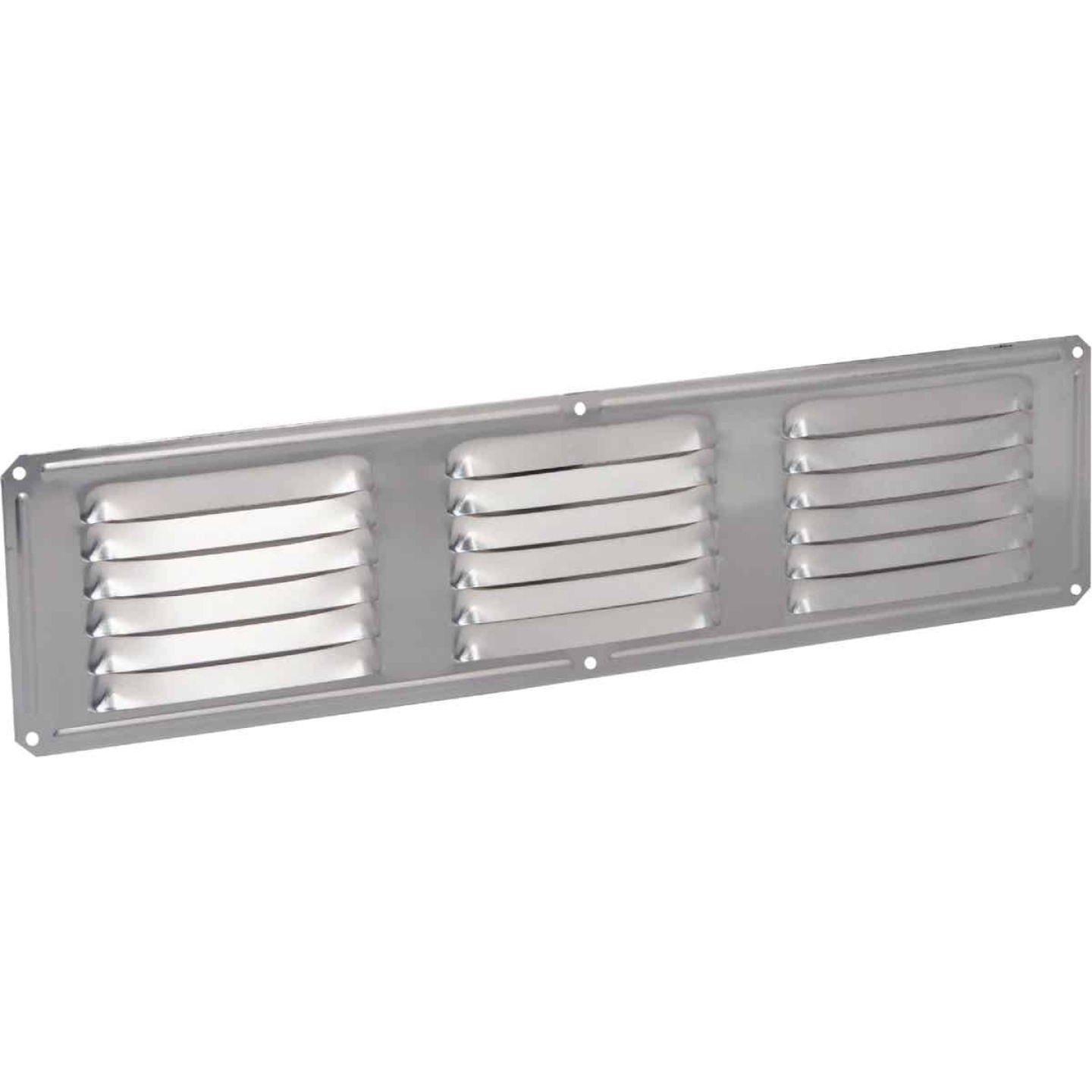 Air Vent 16 In. x 4 In. Mill Aluminum Under Eave Vent Image 1