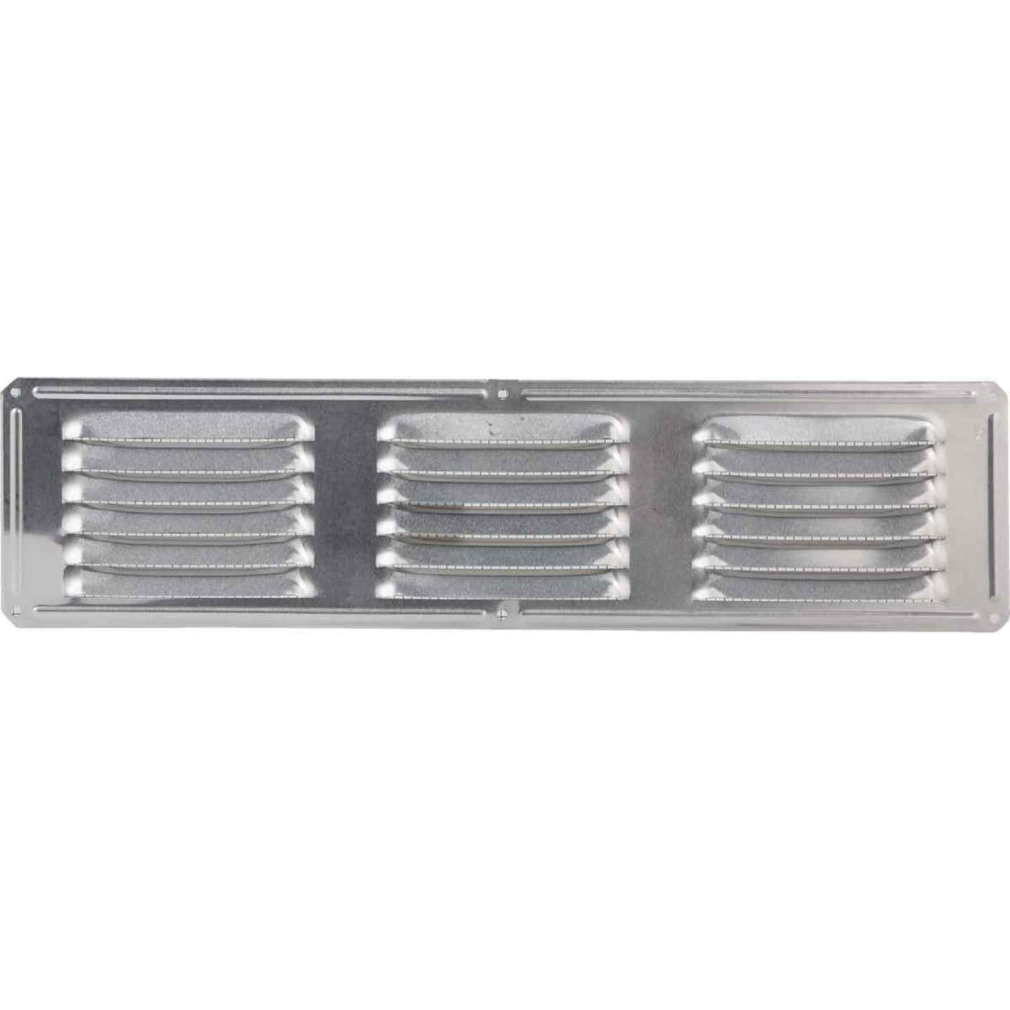 Air Vent 16 In. x 4 In. Mill Aluminum Under Eave Vent Image 2