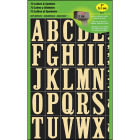 Hy-Ko Self-Adhesive Polyester 2 In. Gold Letter Set Image 1