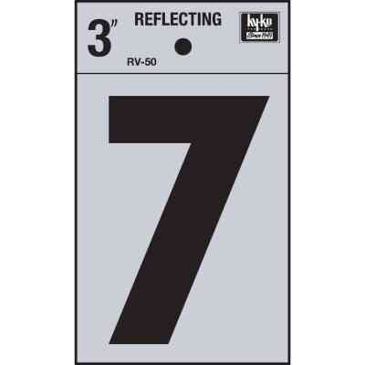 Hy-Ko Vinyl 3 In. Reflective Adhesive Number Seven