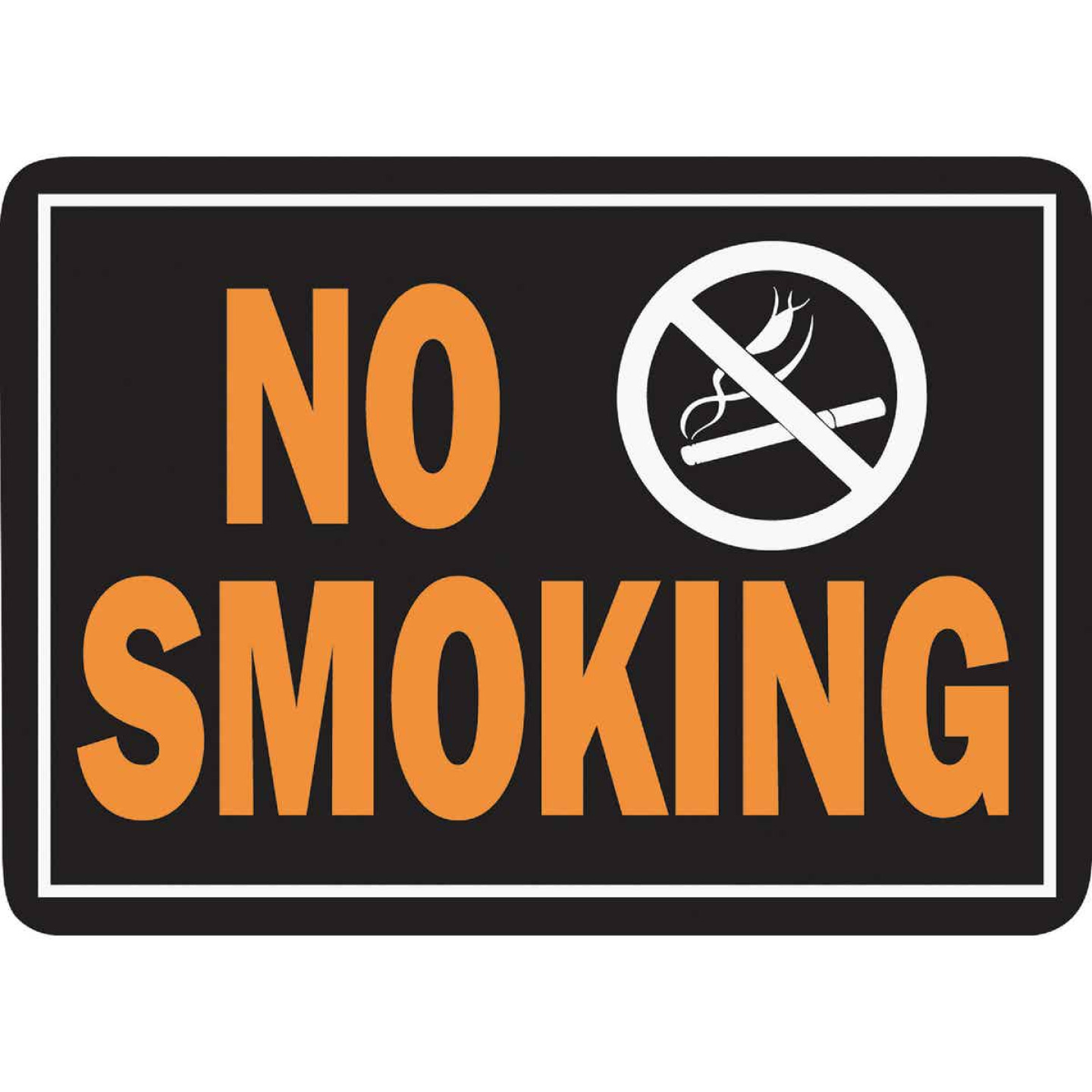 Hy-Ko Aluminum Sign, No Smoking Image 1
