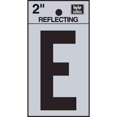 Hy-Ko Vinyl 2 In. Reflective Adhesive Letter, E