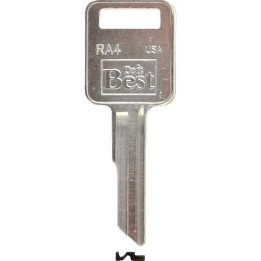 ILCO AMC Nickel Plated Automotive Key, RA4 (10-Pack)