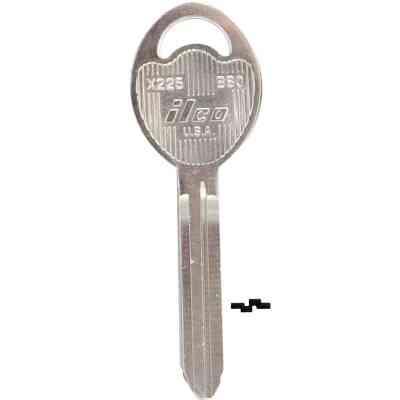 ILCO GM Nickel Plated Automotive Key, B80 (10-Pack)