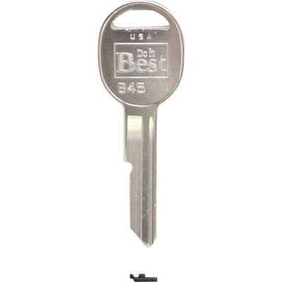 ILCO GM Nickel Plated Automotive Key, B45 (10-Pack)