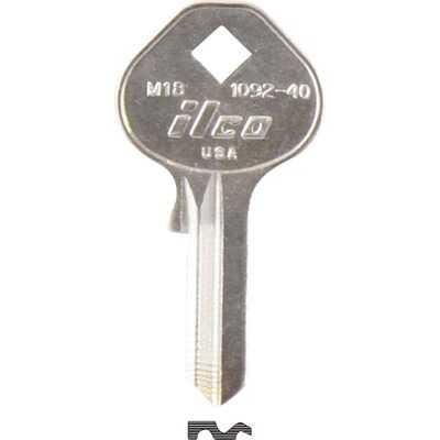 ILCO Master Nickel Plated Padlock Key, M18 (10-Pack)