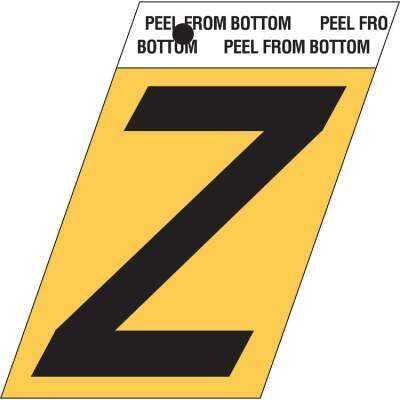 Hy-Ko Aluminum 1.5 In. Self-Adhesive Letter, Z