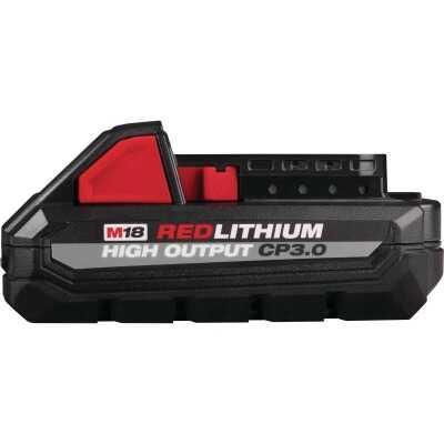 Milwaukee M18 REDLITHUM 18 Volt Lithium-Ion 3.0 Ah High Output CP3.0 Tool Battery