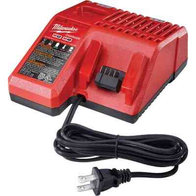 Milwaukee M18/M12 18 Volt and 12 Volt Lithium-Ion Multi-Voltage Battery Charger