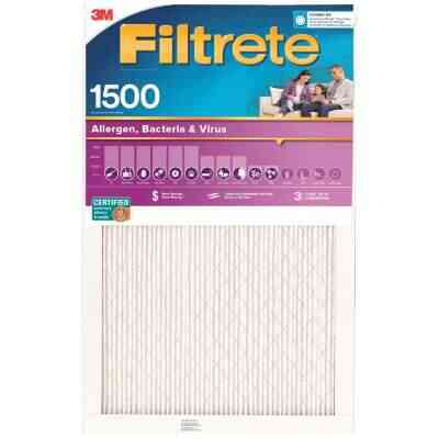 3M Filtrete 24 In. x 24 In. x 1 In. Ultra Allergen Healthy Living 1550 MPR Furnace Filter