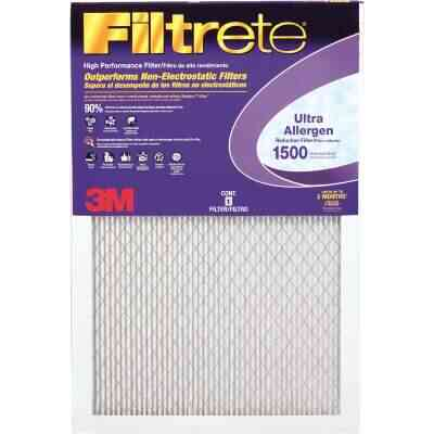 3M Filtrete 24 In. x 30 In. x 1 In. Ultra Allergen Healthy Living 1550 MPR Furnace Filter