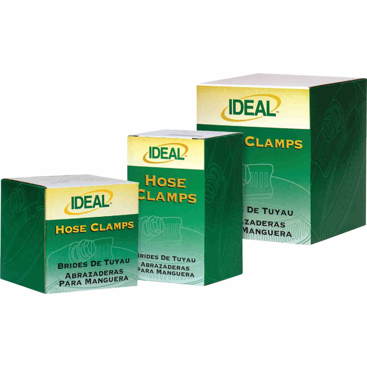 Ideal 1/2 In. - 1-1/16 In. 67 All Stainless Steel Hose Clamp Image 2