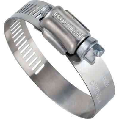 Ideal 1-1/4 In. - 2-1/4 In. 57 Stainless Steel Hose Clamp with Zinc-Plated Carbon Steel Screw