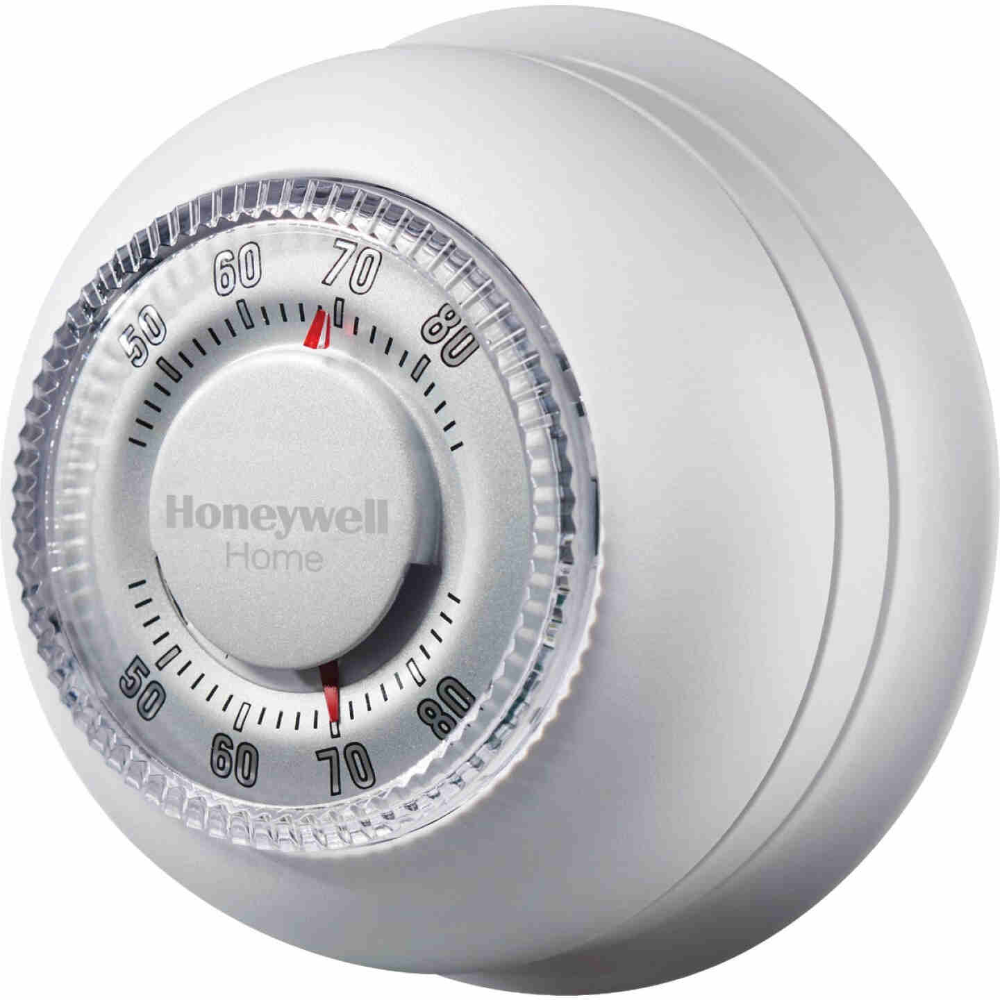 Honeywell Home Heat Only Off White Round Wall Thermostat Image 2