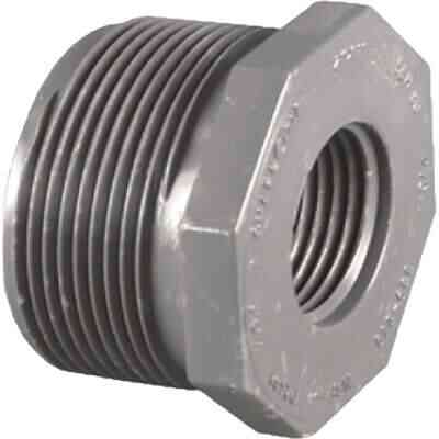 Charlotte Pipe 1-1/2 In. MPT x 1 In. FPT Schedule 80 Reducing PVC Bushing