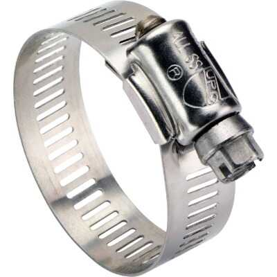 Ideal 2-1/4 In. - 3-1/4 In. All Stainless Steel Marine-Grade Hose Clamp