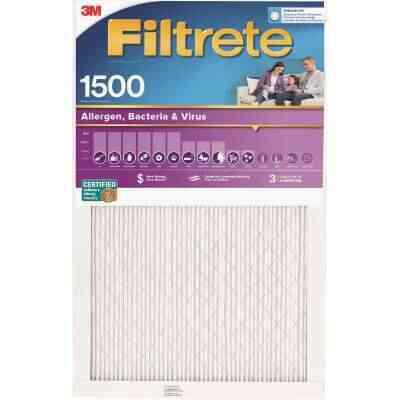 3M Filtrete 16 In. x 25 In. x 1 In. Ultra Allergen Healthy Living 1550 MPR Furnace Filter