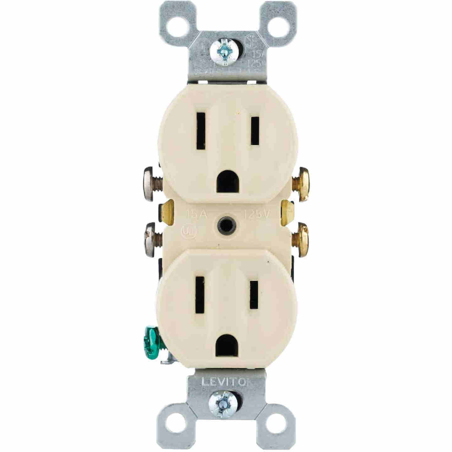 Do it 15A Ivory Residential Grade 5-15R Duplex Outlet Image 3