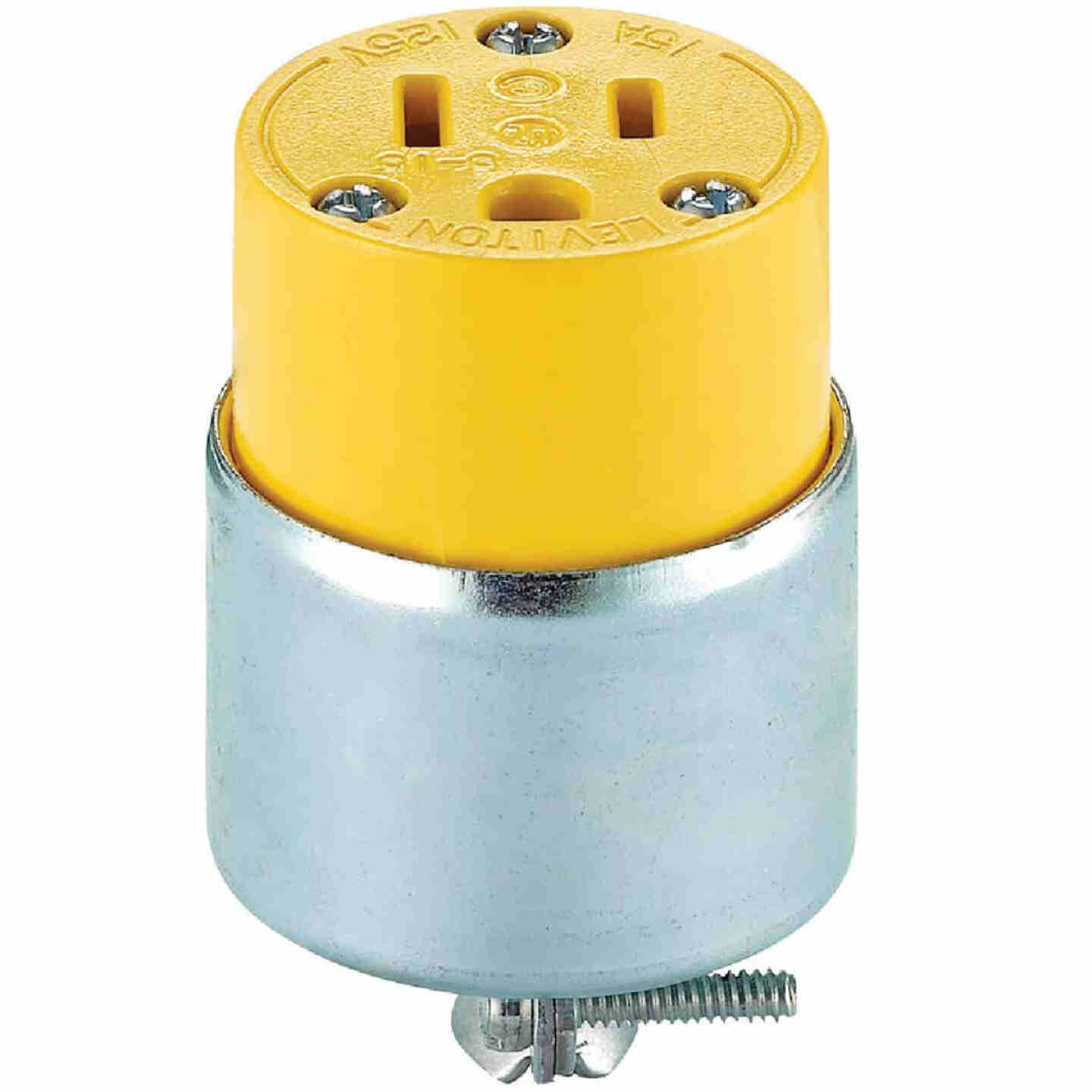 Do it 15A 125V 3-Wire 2-Pole Armored Cord Connector Image 3