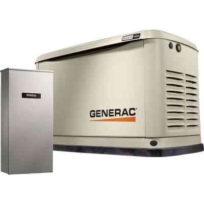 Generac Guardian WiFi 18,000W Natural Gas/LP Home Standby Generator with Smart Switch