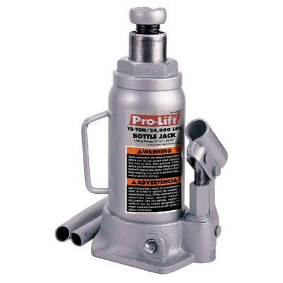 Pro-Lift 12-Ton Hydraulic Bottle Jack