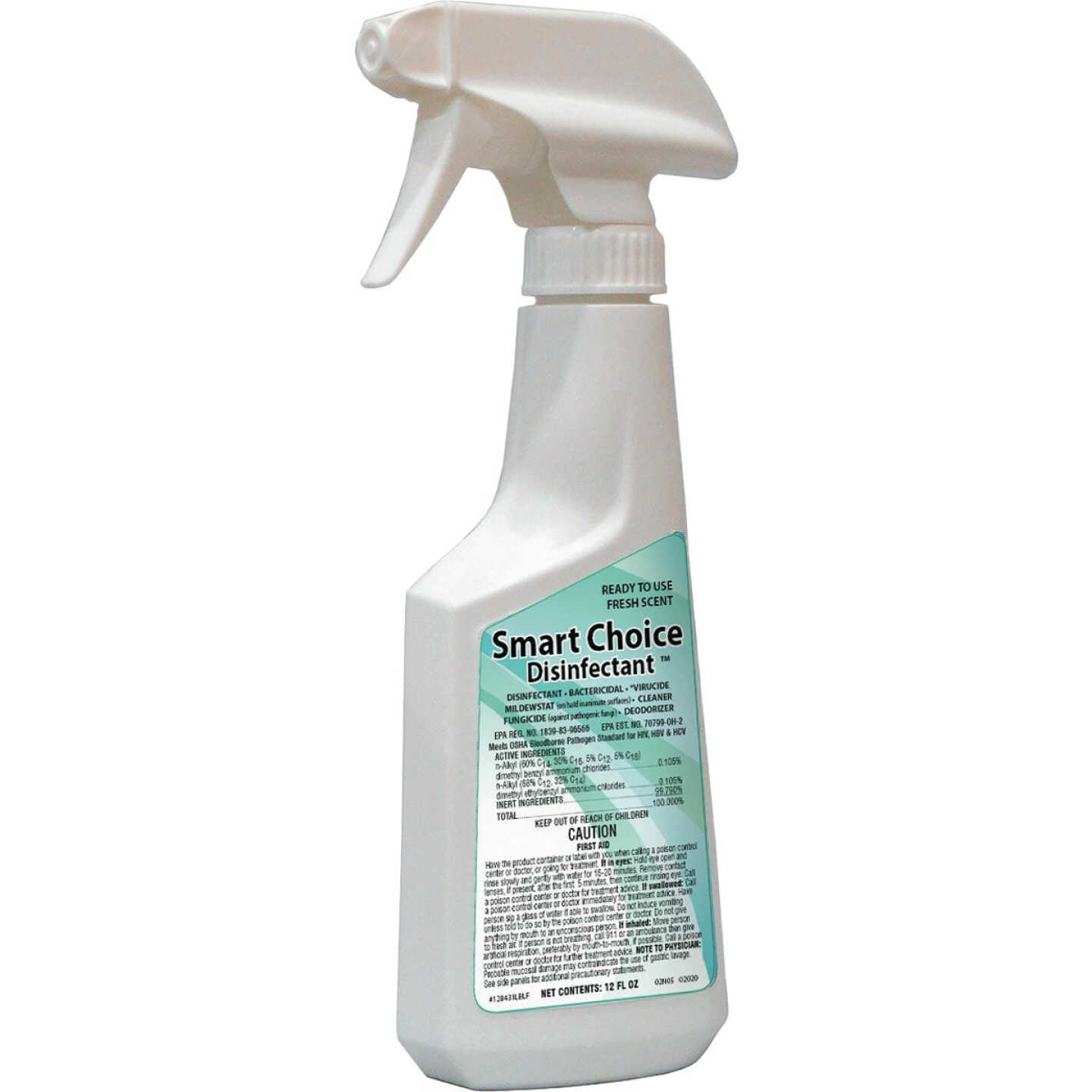 Smart Choice 12 Oz. Disinfectant Cleaner Spray Image 1