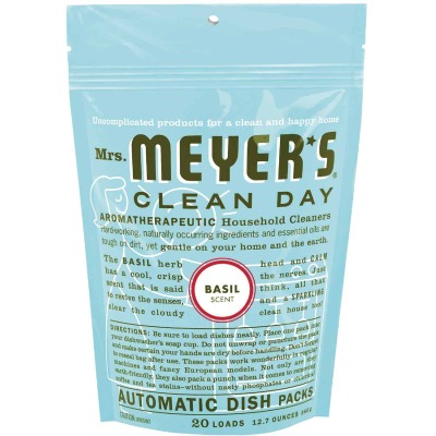 Mrs. Meyer's Basil Dishwasher Detergent Tabs (20 Count)