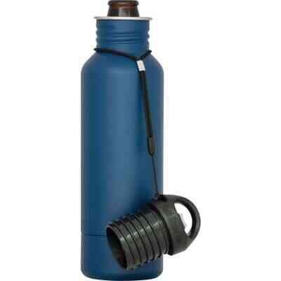 BottleKeeper 12 Oz. Blue Stainless Steel Insulated Drink Holder