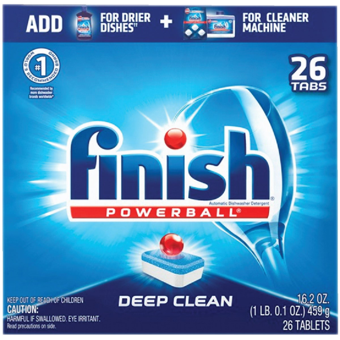 Finish Powerball Fresh Scent Dishwasher Detergent (26 Count) Image 1