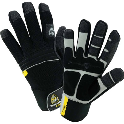 West Chester Men's Large Synthetic Leather Winter Work Glove