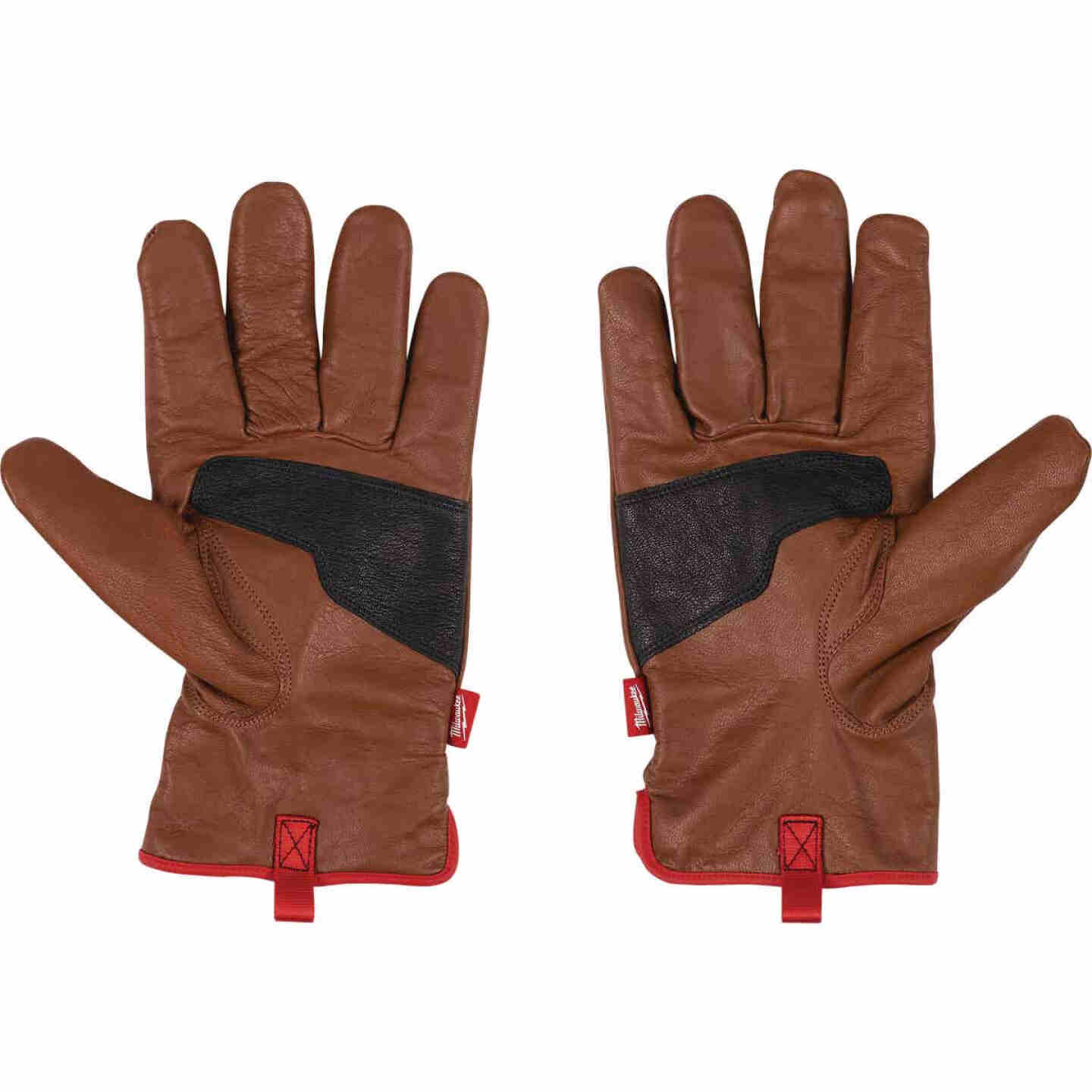 Milwaukee Impact Cut Level 3 Men's Large Goatskin Leather Work Gloves Image 2