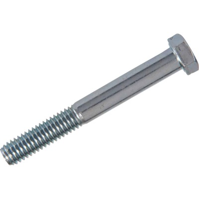Hillman 3/8 In. x 1 In. Grade 2 Zinc Hex Bolts (100 Ct.)