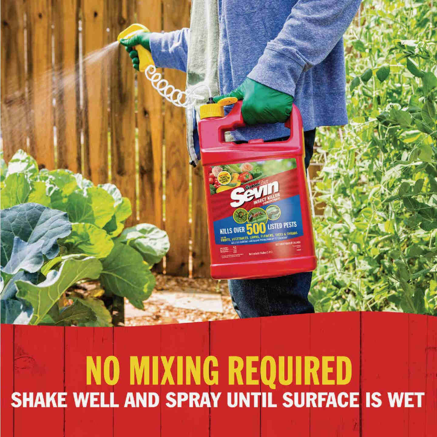 Garden Tech Sevin 1 Gal. Ready To Use Trigger Spray Insect Killer Image 2