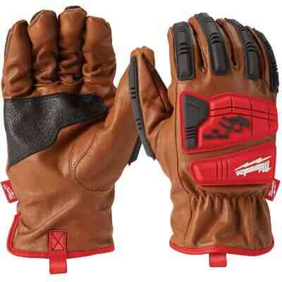 Milwaukee Impact Cut Level 3 Men's Medium Goatskin Leather Work Gloves