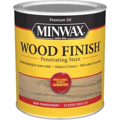 Minwax Wood Finish Penetrating Stain, Classic Gray, 1 Qt.