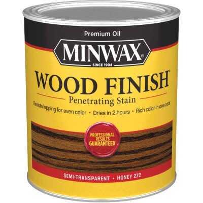 Minwax Wood Finish Penetrating Stain, Honey, 1 Qt.