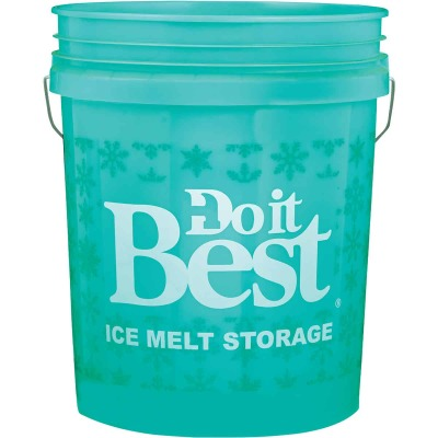 Do it Best 5 Gal. Blue Ice Melt Pail