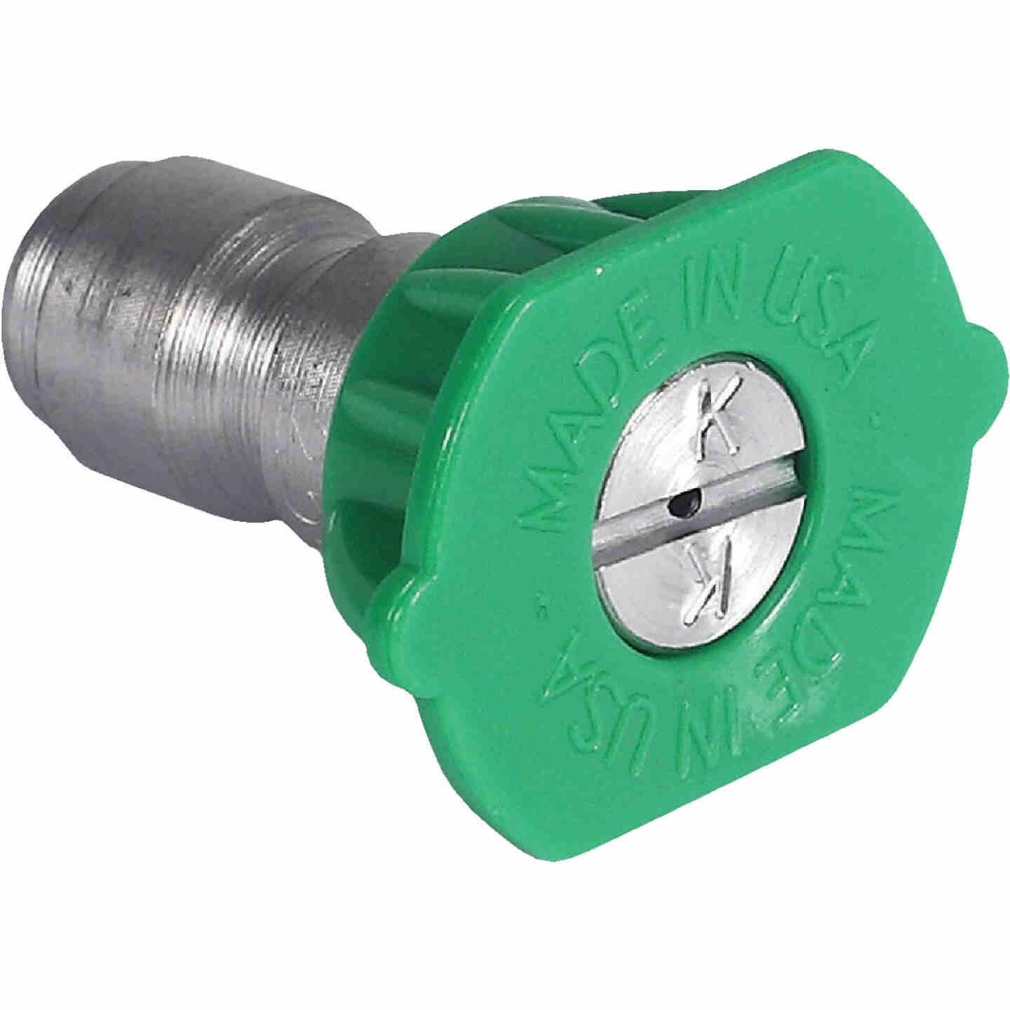 Mi-T-M 3.0mm 25 Degree Green Pressure Washer Spray Tip Image 1