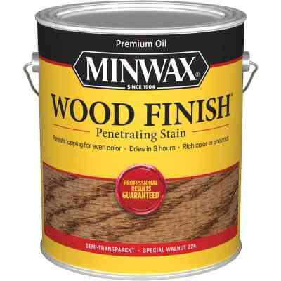 Minwax Wood Finish VOC Penetrating Stain, Special Walnut, 1 Gal.