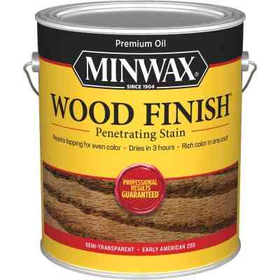 Minwax Wood Finish VOC Penetrating Stain, Early American, 1 Gal.