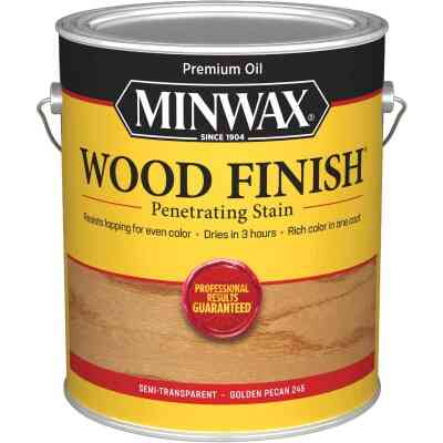 Minwax Wood Finish VOC Penetrating Stain, Golden Pecan, 1 Gal.