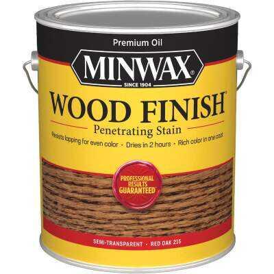 Minwax Wood Finish Penetrating Stain, Red Oak, 1 Gal.
