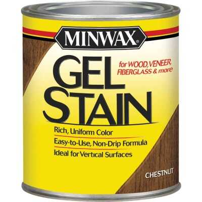 Minwax Gel Stain, Chestnut, 1/2 Pt.