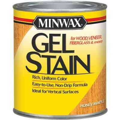 Minwax Gel Stain, Honey Maple, 1 Qt.