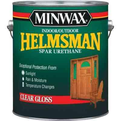 Minwax Helmsman Gloss Clear Spar Urethane, 1 Gal.