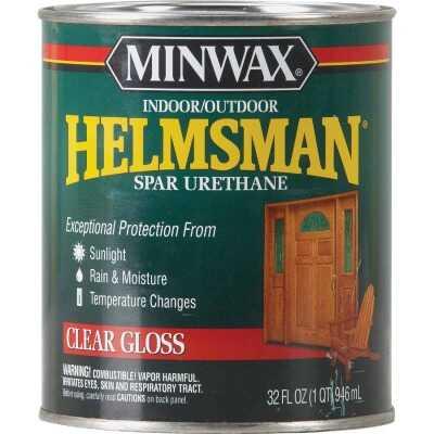 Minwax Helmsman Gloss Clear Spar Urethane, 1 Qt.