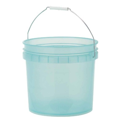 Leaktite 3.5 Gal. Green Translucent Pail