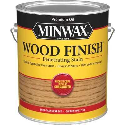 Minwax Wood Finish Penetrating Stain, Golden Oak, 1 Gal.