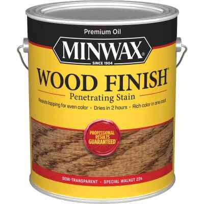 Minwax Wood Finish Penetrating Stain, Special Walnut, 1 Gal.