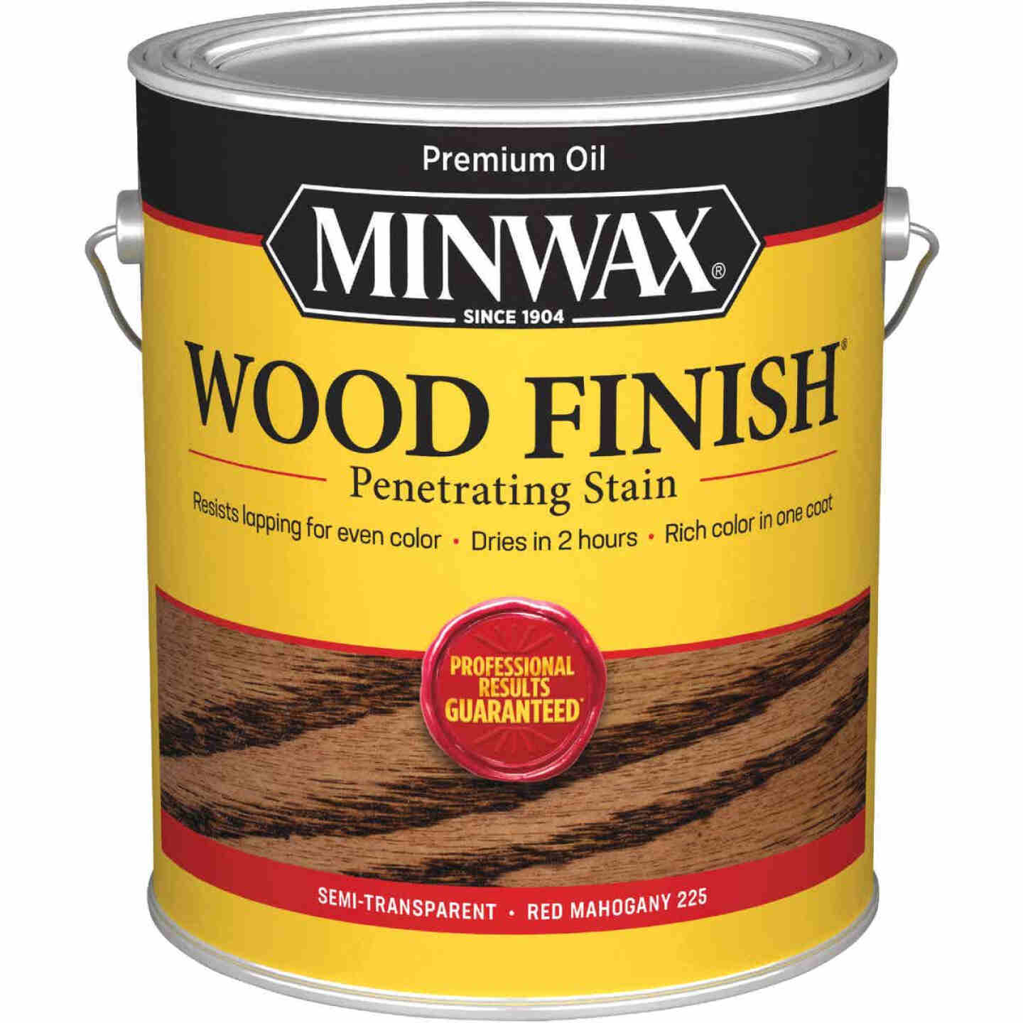 Minwax Wood Finish Penetrating Stain, Red Mahogany, 1 Gal. Image 1